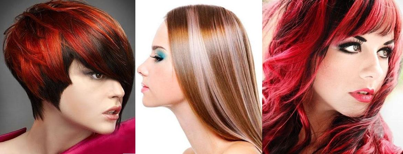 Фото окрашенных волос в два цвета на короткие