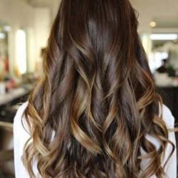 техника окрашивания волос балаяж фото