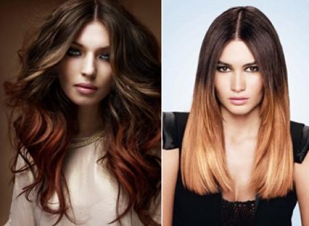шатуш на темные волосы фото до и после длинные