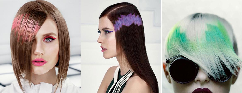 пиксельное окрашивание волос фото и техника