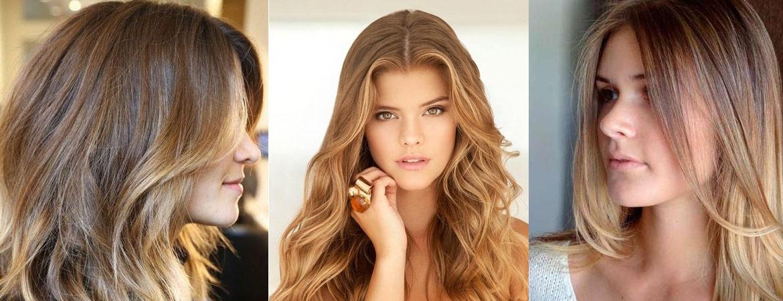 Окрашивание шатуш на средние и длинные волосы
