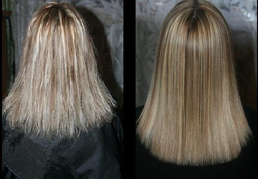Ламинирование волос в салоне цена