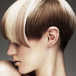 окрашивание волос в два тона