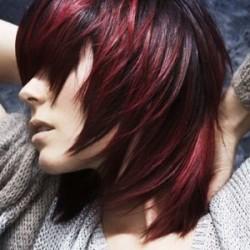 окрашивание волос в два цвета фото