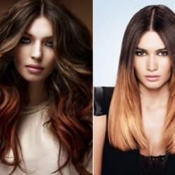 окрашивание волос шатуш фото до и после