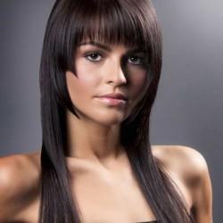 женская стрижка на длинные волосы недорого