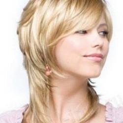 креативные женские стрижки на волосы средней длины