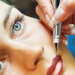 татуаж перманентный макияж губ фото
